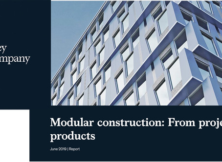 Report Heralds Modular Construction's Superior Productivity