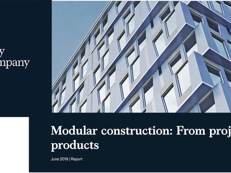 Report Heralds Modular Construction's Superior Productivity