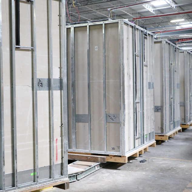 SurePods Bathroom Pod Production Factory