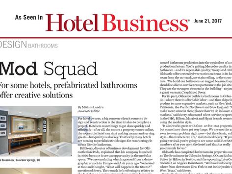 Hotel Business Magazine Highlights Benefits of SurePods