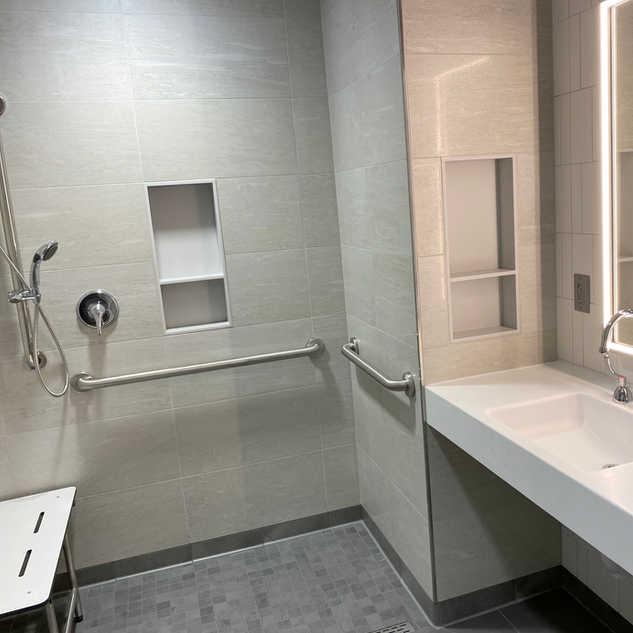 SurePods Healthcare modular bathroom pod