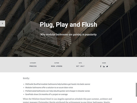 StrXur by Bluebeam – Plug, Play and Flush