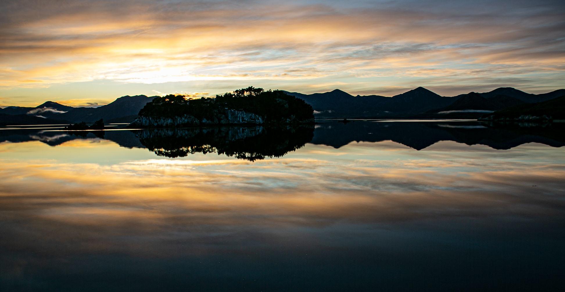 isle at dawn