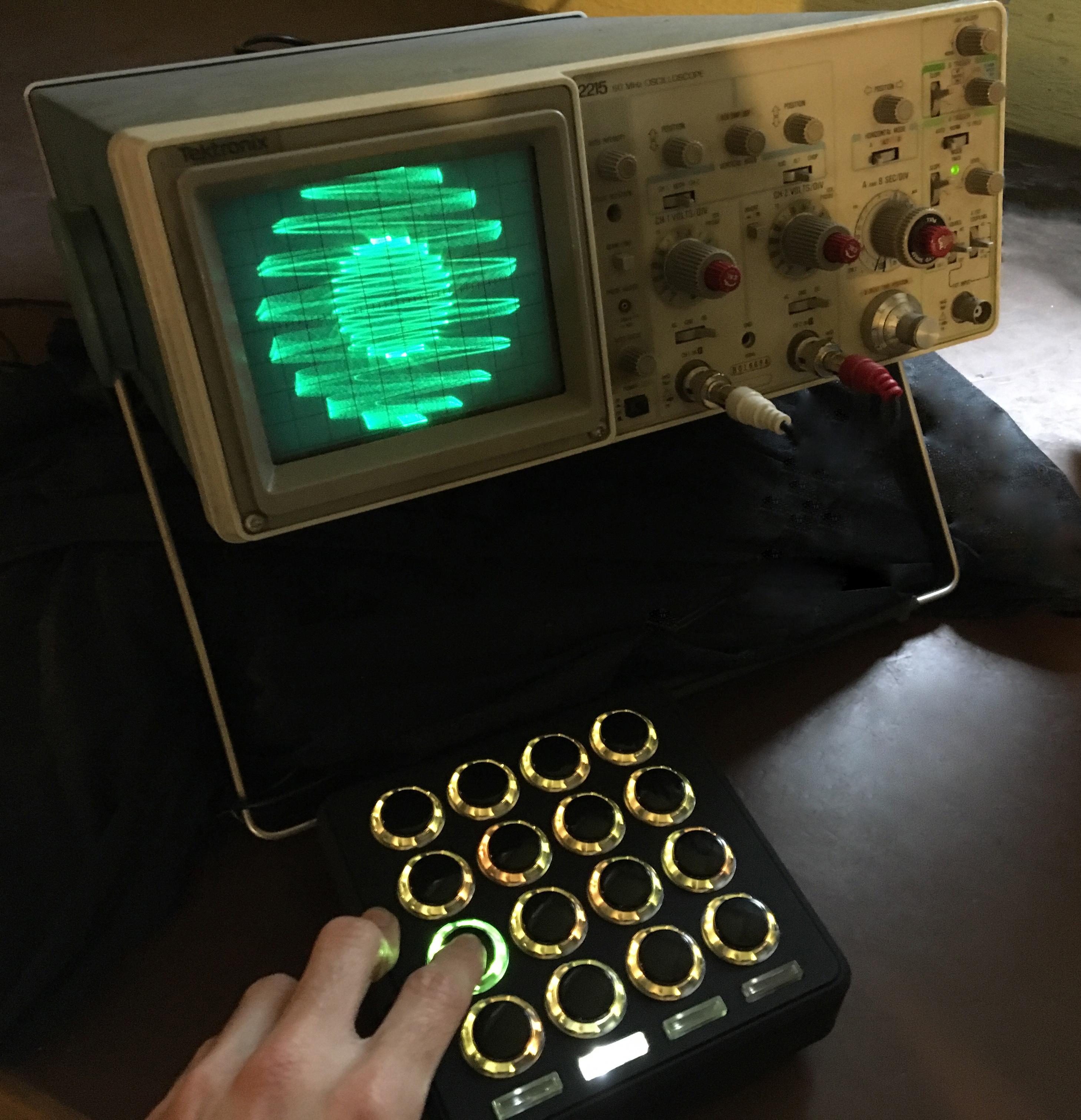 Oscilloscope Synth