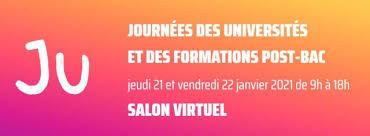 21 & 22 Janvier - Journée des universités et des formations post-bac – Salon 100% virtuel