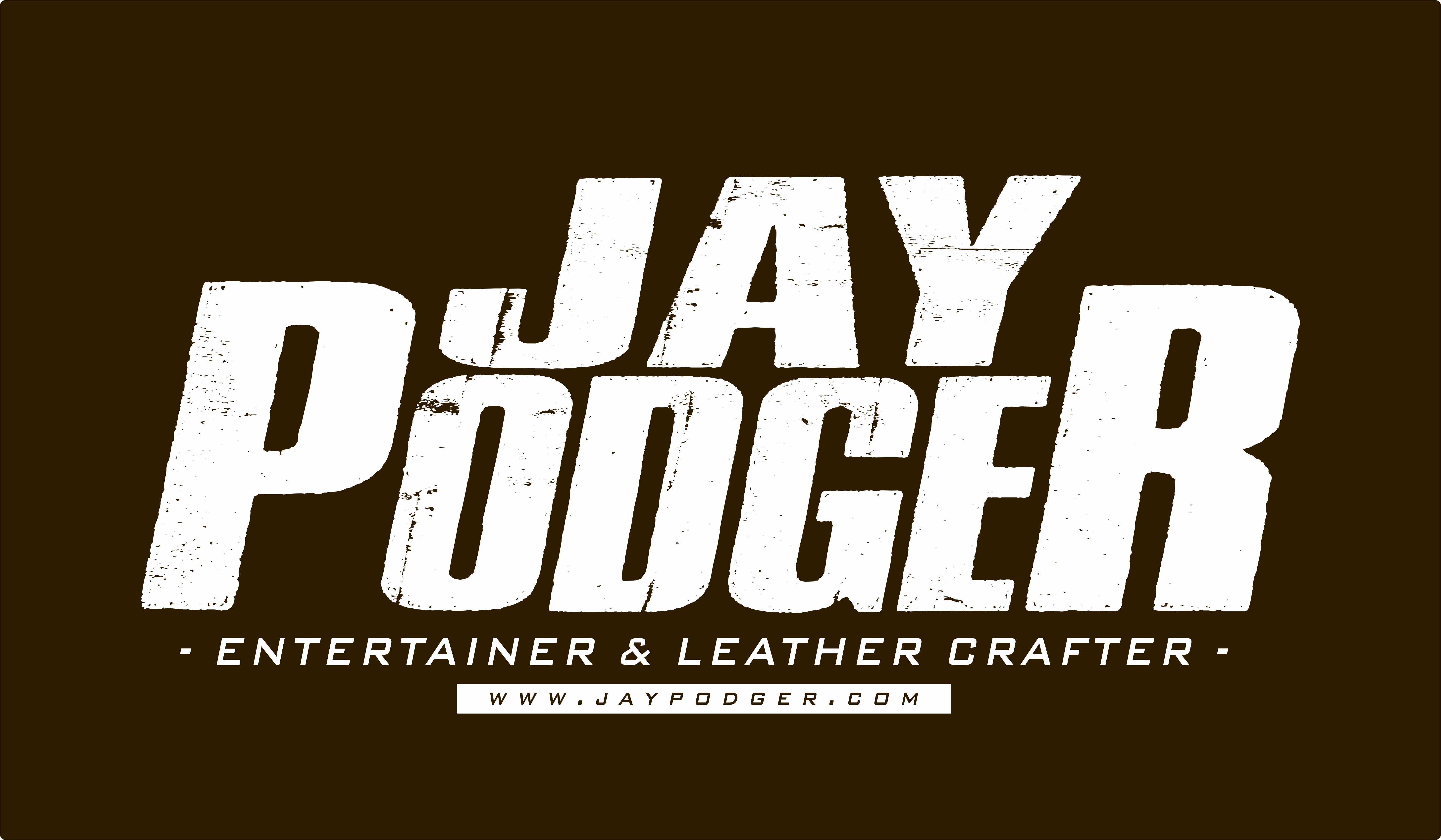 Jay Podger Entertainer & Leather crafter sticker