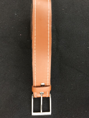 Tan Dress Belt