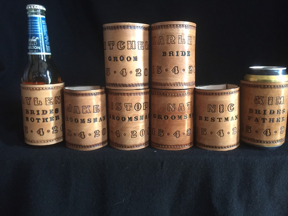 Wedding Party Stubby holders