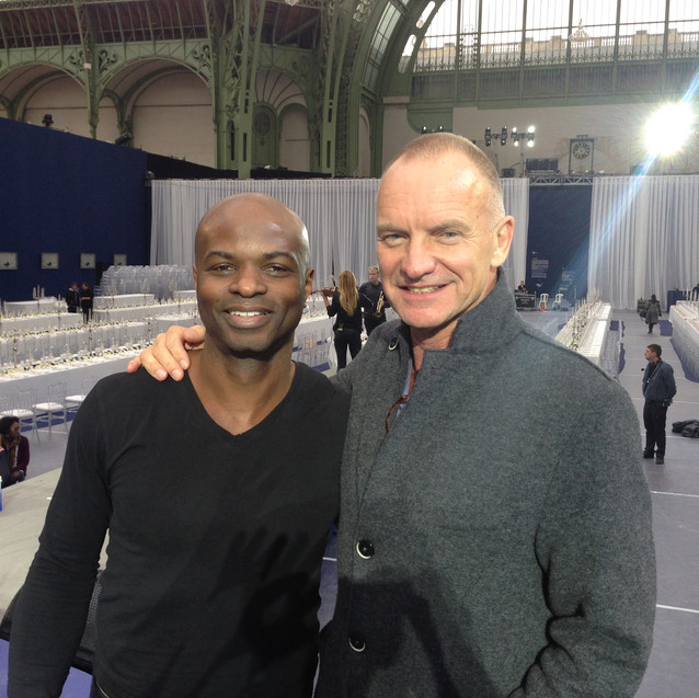 Richie with Sting