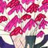 Vase of Pink Flowers