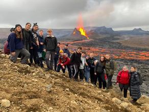 NGK elever på vulkaner