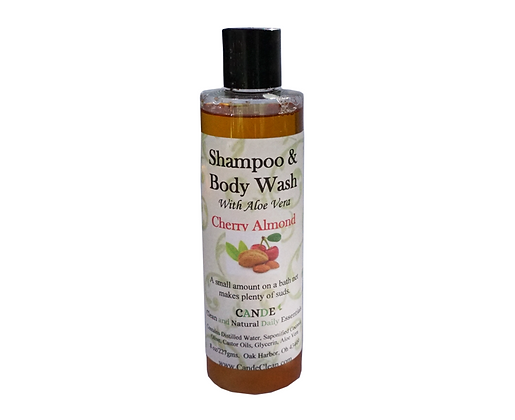 Cherry Almond Body Wash & Shampoo