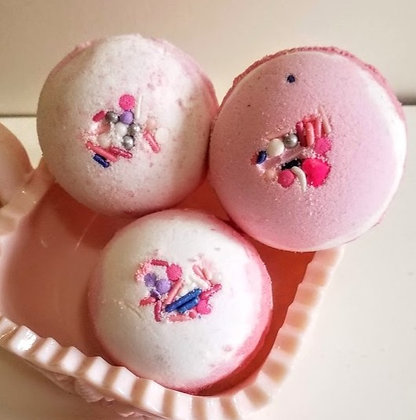 Be Mine Valentine Bath Bombs
