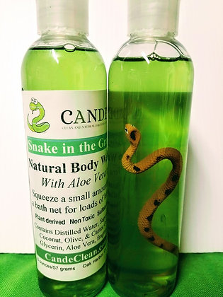 Snake in the Grass Body Wash with Toy Snake