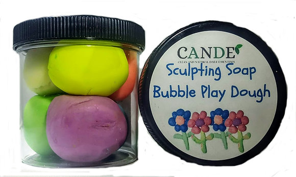 Sculpting Soap Bubble Play Dough