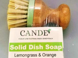 Zero Waste Dish Soap - no plastic!