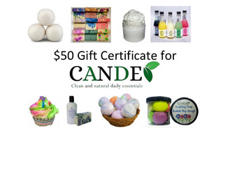 Win a $50 Gift Certificate!