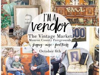 Vintage Market in Monroe, MI Sunday