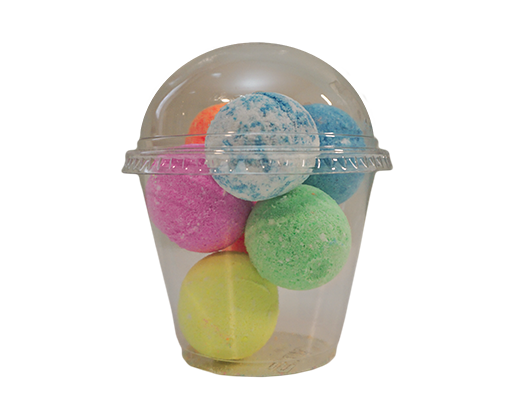 Gumball Bath Bombs