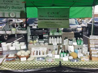 Come see us! CANDE Farmers Market Ohio