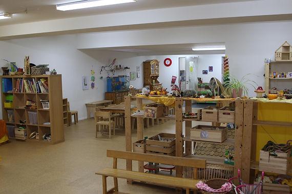 Räumlichkeiten der Kindertagesstätte Liputto
