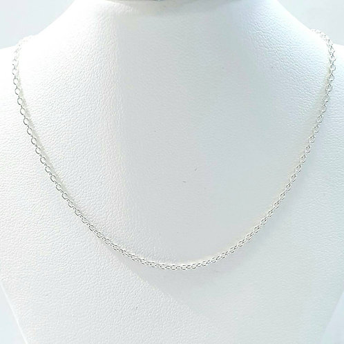 925 Sterling Silver Italian Cable Chain