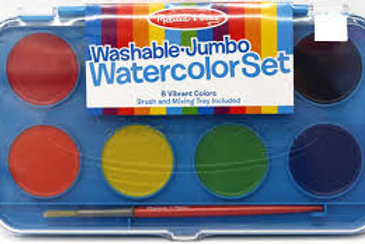Washable Jumbo Watercolour Set