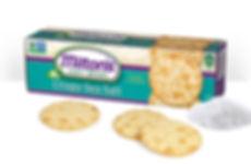 Milton's Gourmet Crackers Crispy Sea Salt NON-GMO
