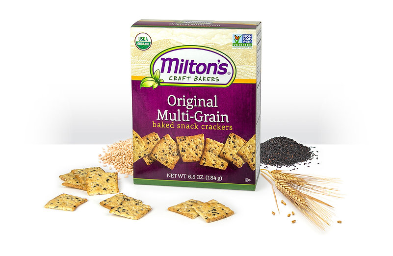 Organic Snack Original Milti-Grain Crackers NON GMO