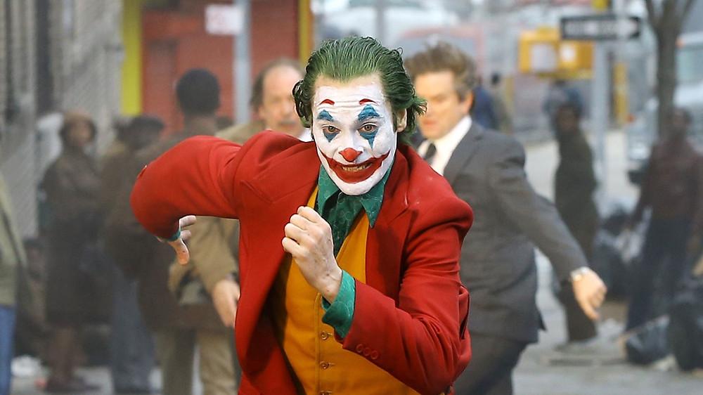 Joaquin Phoenix's Joker Running