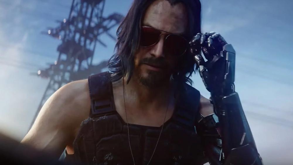 Keanu Reeves surprises in Cyberpunk 2077
