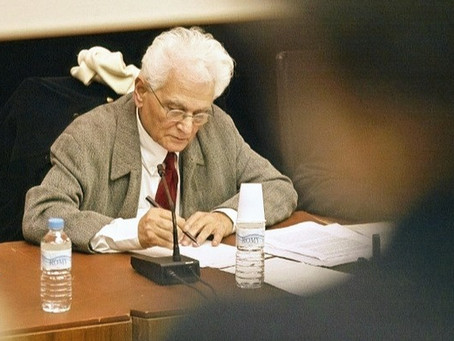 The Late Jacques Derrida Openly Defended Professor Accused of Sexual Harassment