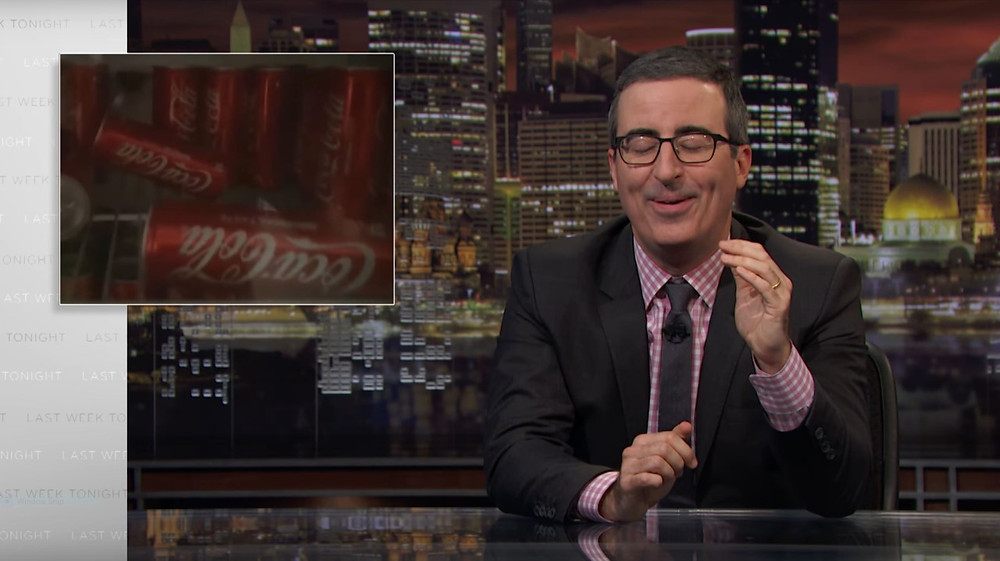 John Oliver on Coke vs. Pepsi