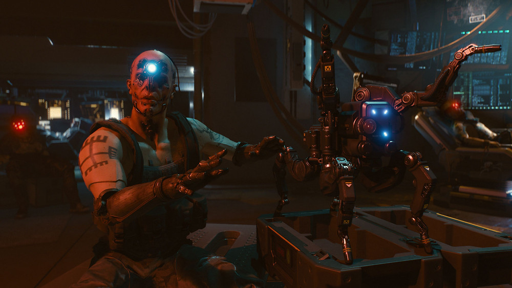 Androids and tech in Cyberpunk 2077
