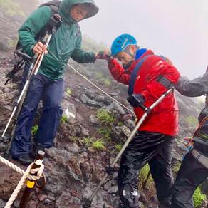 杉田秀之さんの富士登山への挑戦に