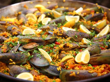 BBQ Mussel Paella