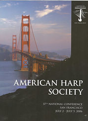 American Harp Society Journal covering National Conference in San Francisco 2005