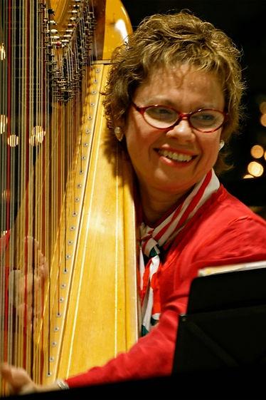 Janice Ortega harpist and harp teacher San Francisco Bay Area