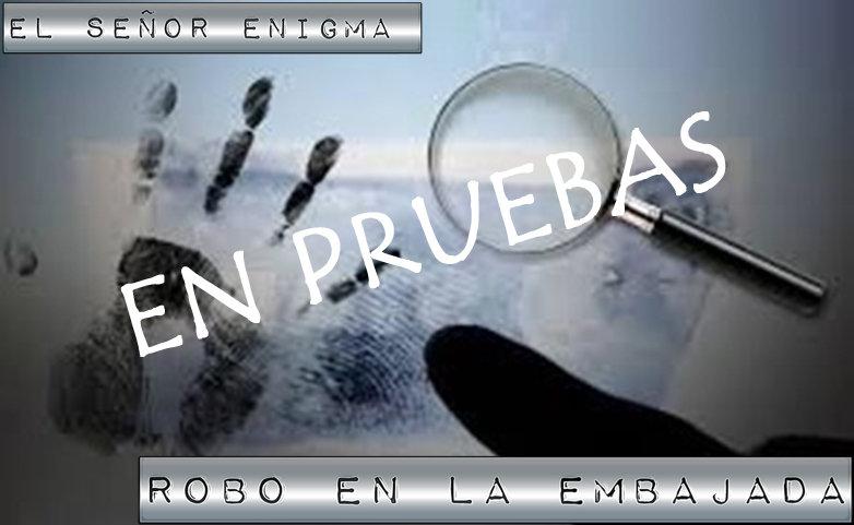 Robo en la embajada Madrid mesa 3