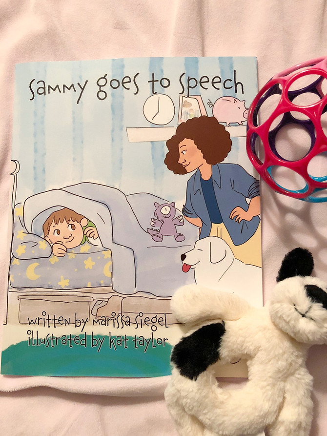 Book Review:  Sammy Goes to Speech