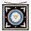 Thumbnail: Tiffany Dove Window Silk Square