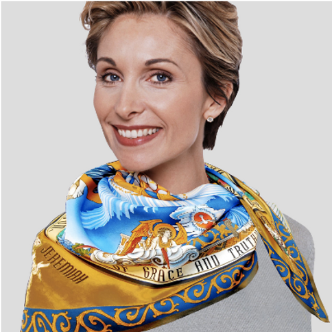 Incarnation Dome Silk Scarf