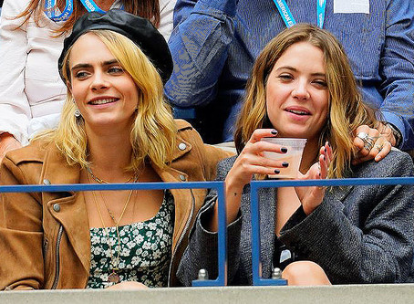 Women's Health: Ashley Benson and Cara Delevingne Are Really Touchy-Feely With Each Other In Public