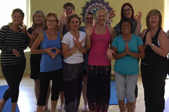 Goddess yoga retreat, ON