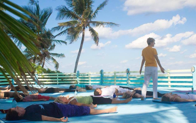 Yoga retreat Bahamas