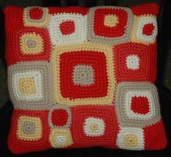 Retro Squares Pillow