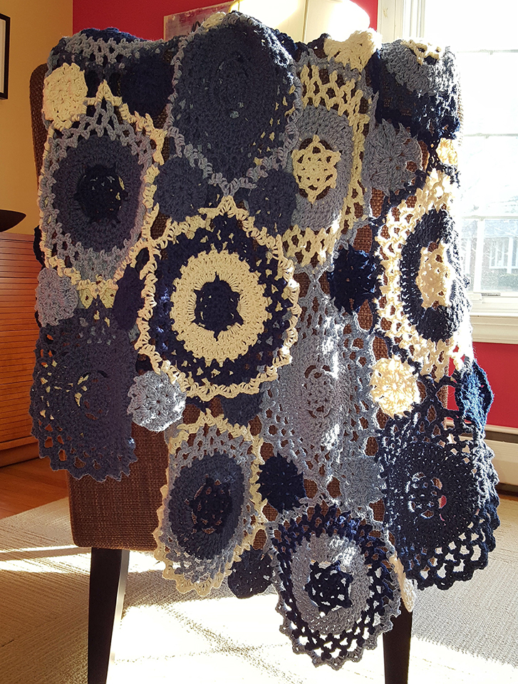 Denim Mandala Wrap