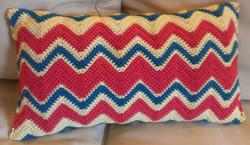Retro Stripe Pillow