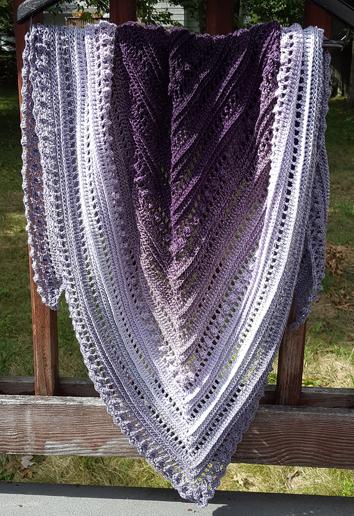"""Secret Paths' Shawl"