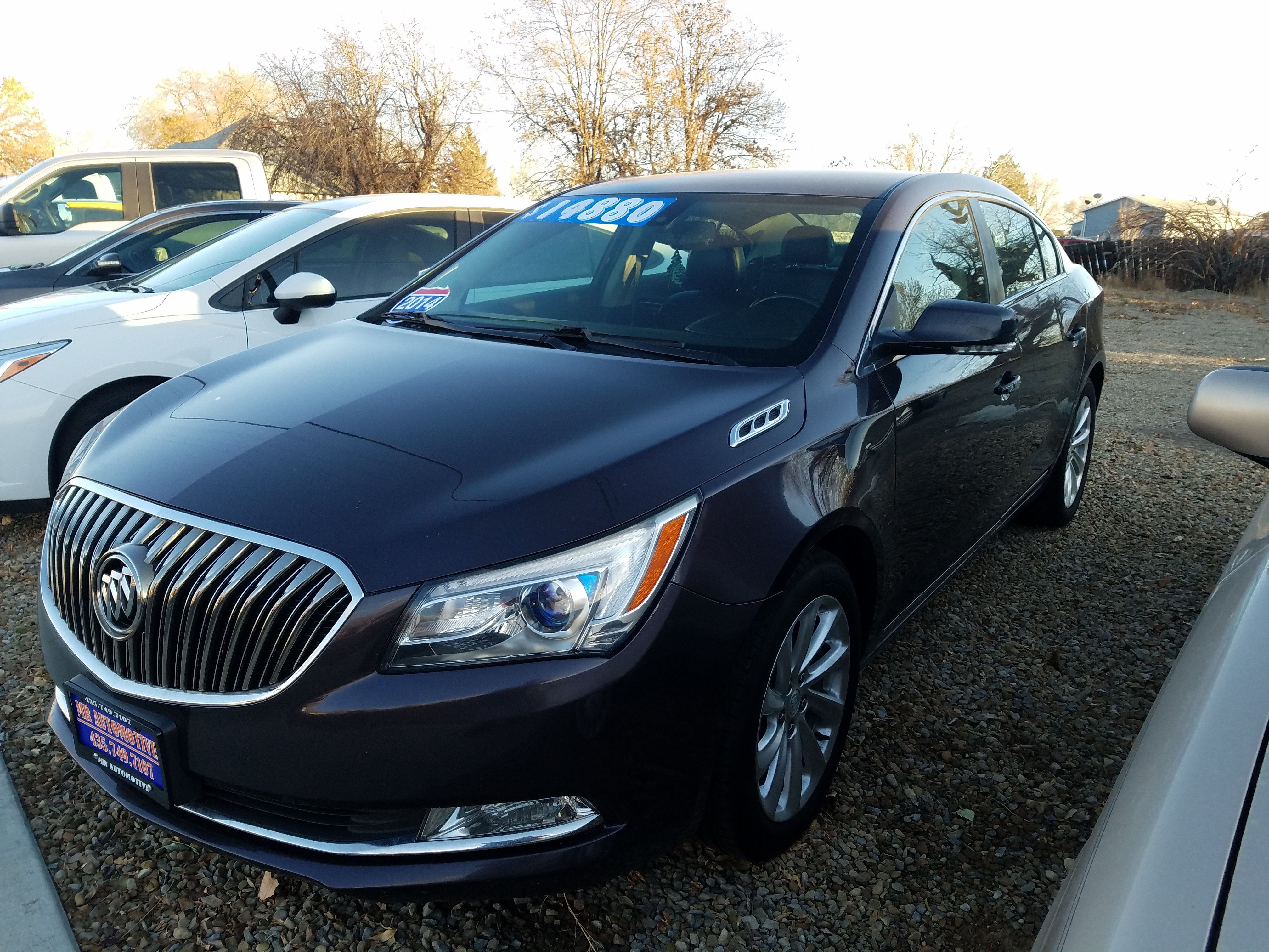 2014 BUICK LACROSSE LEATHER  $14,900
